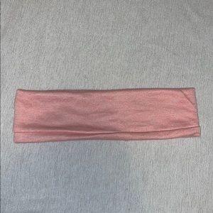 Light pink headband